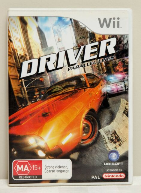 Driver Parallel Lines - Wii Video Game