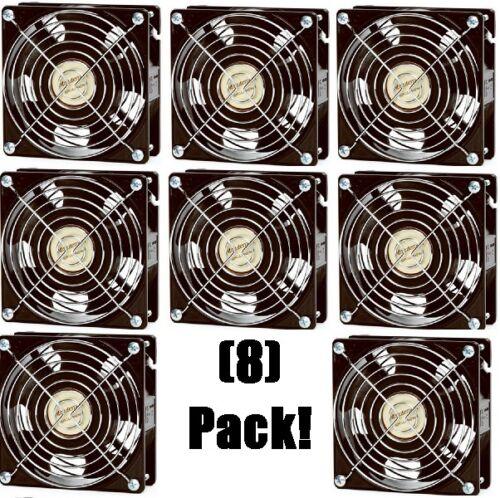 "8 Achla F-11 Minuteman 4.75/"" x 4.75/"" x 1.75/"" Circulating Air Doorway Fans"