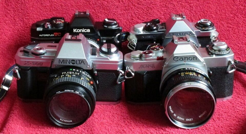 Andet, Fire forskellige gode begynderkameraer