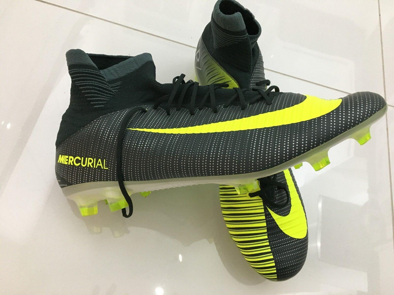Para Hombre Niños Fútbol botas mercurial CR 7