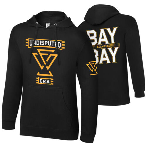"WWE Adam Cole /""Bay Bay/"" Pullover Hoodie Sweatshirt *NEU*"
