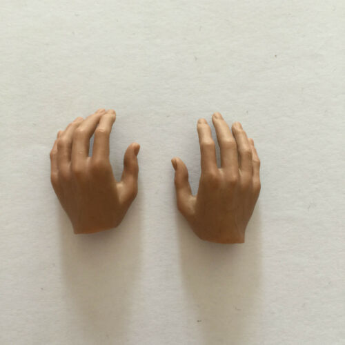 █ Hot Toys Bruce Lee 1/6 Left Right Hands Relaxed Palms from In Suit █