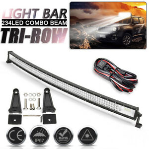 52-034-702-W-DEL-Courbe-travail-Light-Bar-Combo-OffRoad-Lampe-Auto-Camion-Offroad-fil