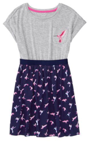 GYMBOREE BRIGHT DAYS AHEAD Girls Nwt Hummingbird Dress L 10 12