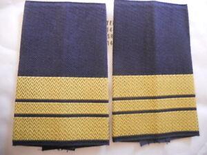 Bundesmarine Gefreiter Rangschlaufen gelb in blau
