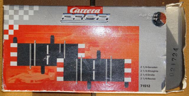 Carrera Profi 71512 1//4-Gerade