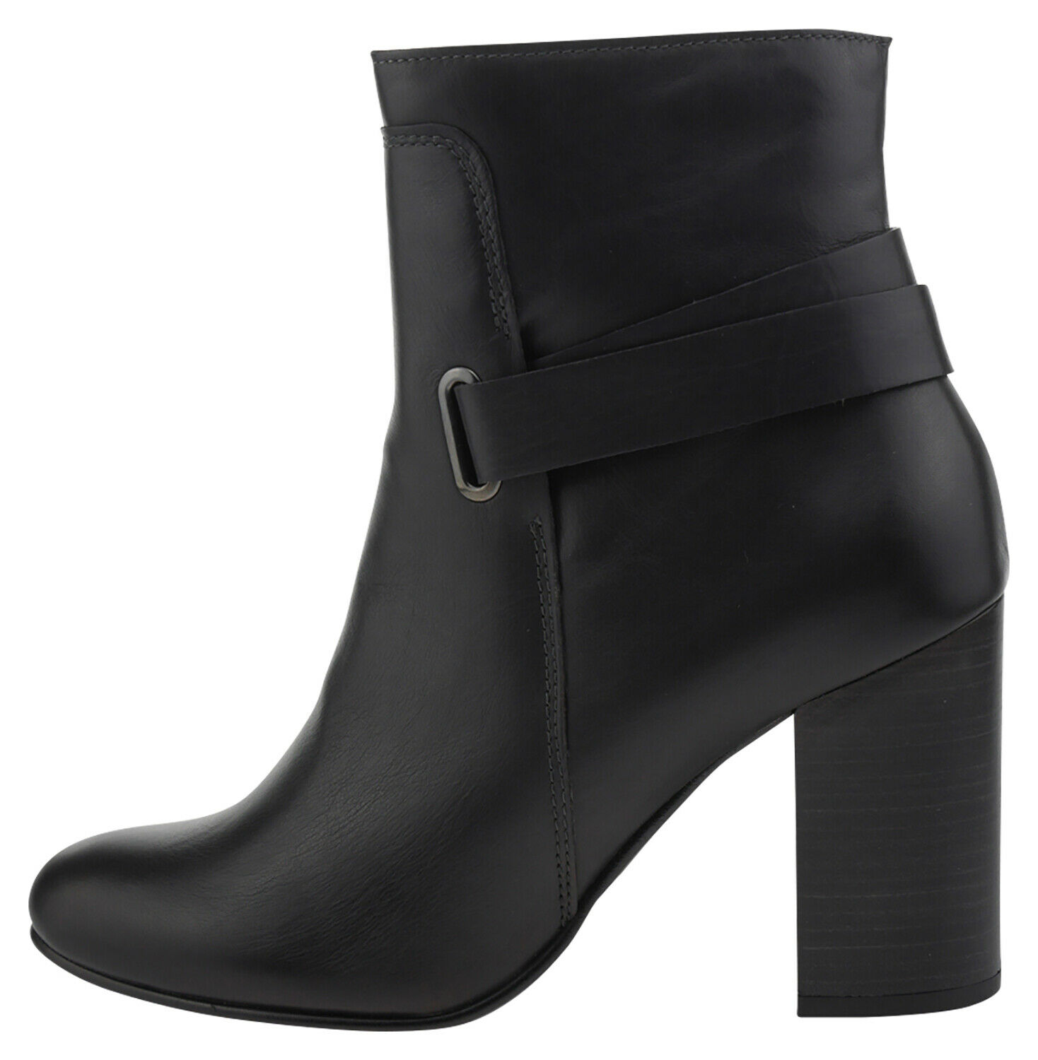 Firenze Wave 2202 Leather Ankle Boots Brown 185966