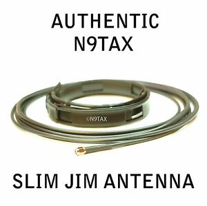 Authentic-N9TAX-VHF-UHF-Slim-Jim-J-Pole-For-HT-2m-70cm-Antenna-16-039-Coax