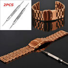2pcs Practical Watch Band Spring Bars Strap Link Pins Remover Repair Kit Tool