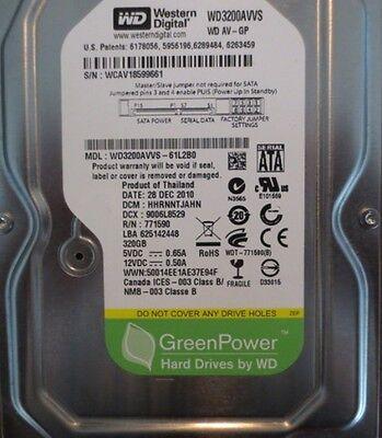 WD3200AVVS-61L2B0 320gb Sata Desktop Hard Drive