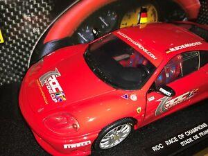 1 18 Hotwheels C0407 Michael Schumacher Ferrari 360 Challenge Stradale Roc 2004 Ebay
