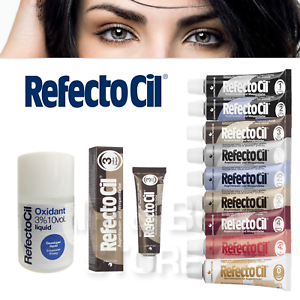 Details about REFECTOCIL COLOR DIED x EYELASHES AND EYEBROWS 15 ml + OXYGEN  LIQUID 50 ml