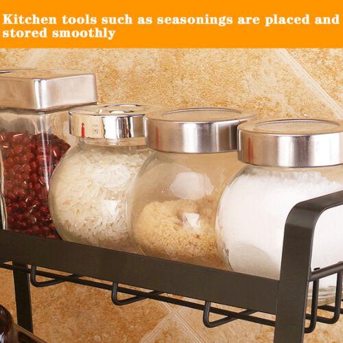 Kitchen Counter Organiser Spice Rack Condiment Seasoning Sauce Utensil Storage