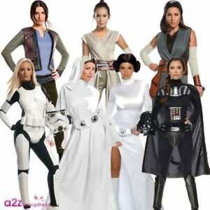 Rey Costume Adult Star Wars Halloween Fancy Dress