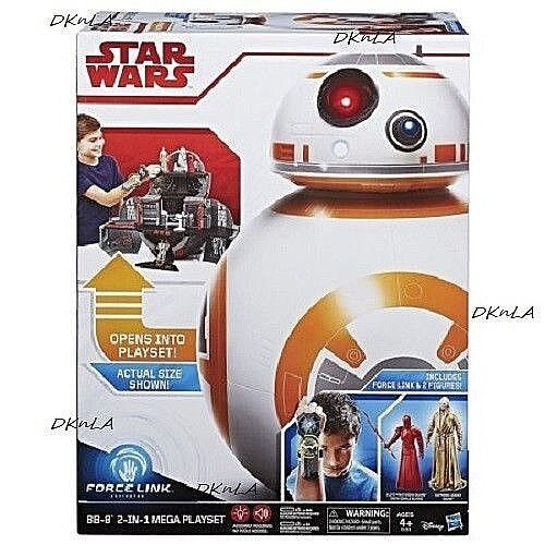 Force Link Figures and Star Wars Force Link BB-8 2-in-1 Mega Playset - Unopened