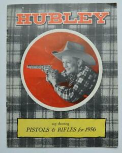 VINTAGE-1956-HUBLEY-TOY-CAP-ILLUSTRATED-CATALOG-MANY-PICTURES