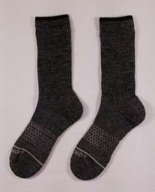 NEW Women's BOMBAS Merino Wool Calf Sock ~ Size: Medium Color: Charcoal (Gray)