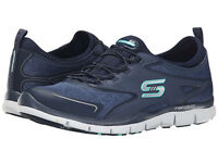 Skechers Gratis High Stretch Fit Memory Foam Slip On Comfort Shoes Sneaker Eu 37