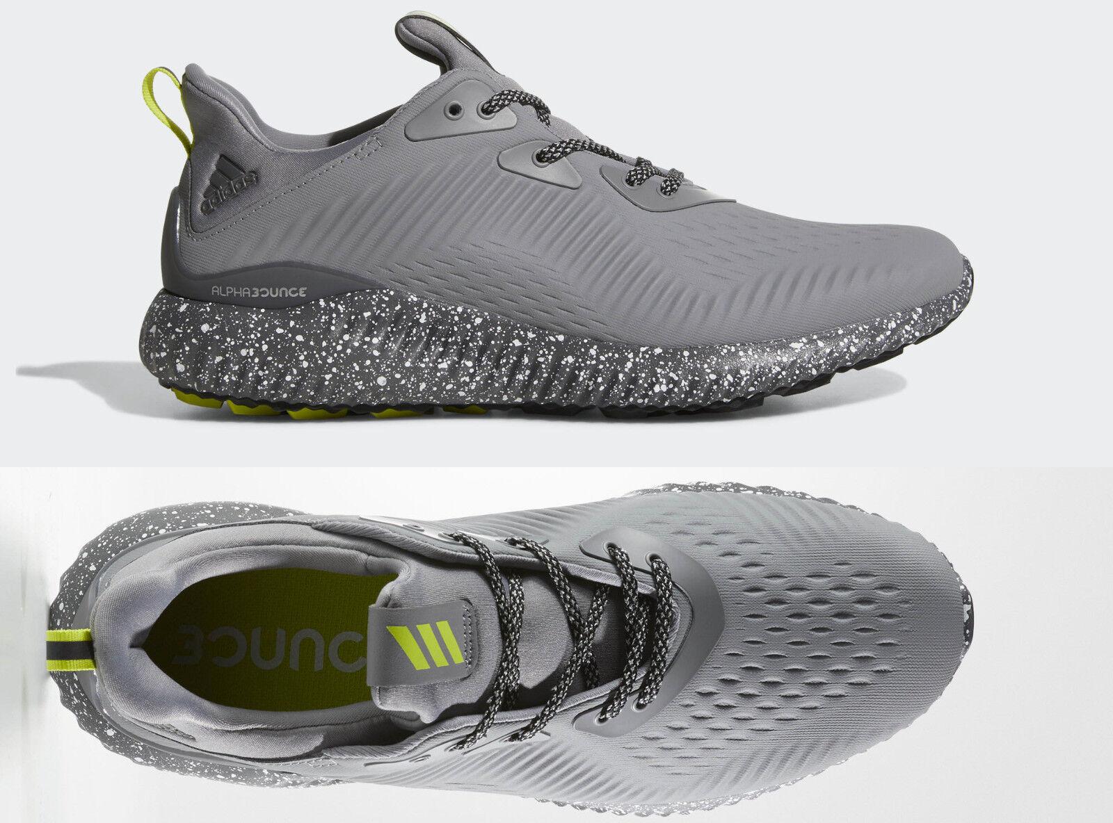 Herren Adidas Alphabounce Em Ctd Laufschuhe Herren cipők BW1224 Neu