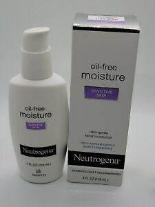 Neutrogena Sin Aceite Crema Hidratante Diaria De Cara De Piel Sensible 4 Fl Oz Ebay