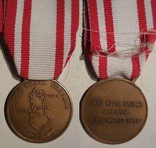 medaglia ai benemeriti della Croce Rossa missione in Albania 1999 red Cross