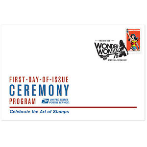 USPS New Wonder Woman Ceremony Program