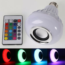 [FreeShipping] RGB LED Lamp Wireless Bluetooth Speaker Bulb [Music Playing]