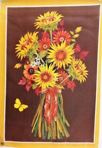 """Sunflower Bouquet Garden Flag by Breeze Art 12""""x18"""", #9209"""