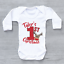 thumbnail 6 - Personalised My First 1st Christmas Xmas Polka Dot Reindeer Baby Grow Bodysuit