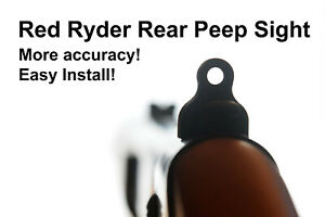 Daisy Red Ryder Rear Ghost Ring / Peep Sight - INCREASED ACCURACY!
