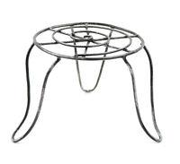 Round Metal Table, 3.5 X 4 Top X 5 Bottom - Miniature Dollhouse Fairy Garden