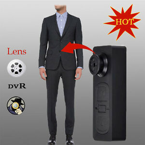 Mini Button Pinhole Camera Hidden DVR PC Camcorder 30fps Pinhole Surveille
