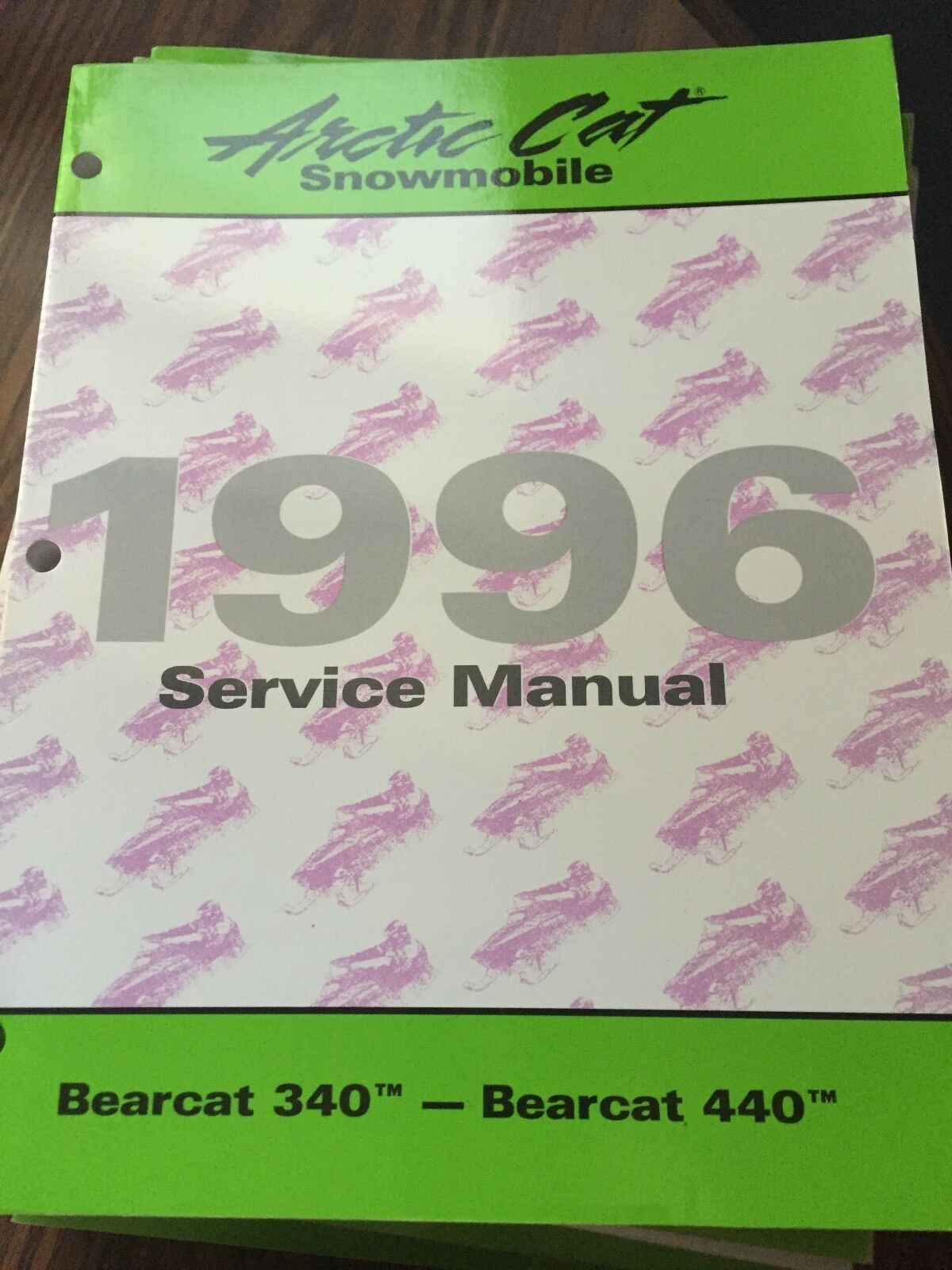 1996 Arctic Cat Bearcat 340 Bearcat 440 Service Manual PN 2255-305