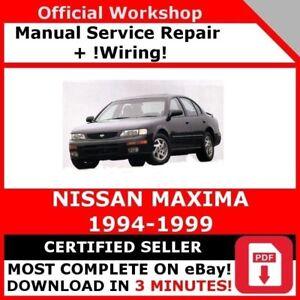 nissan maxima repair manual