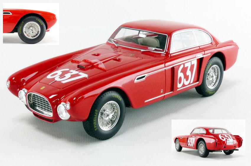 Ferrari 340 Mexico Mille Miglia 1952 E. Castellotti   J. Regosa 1 18 Model