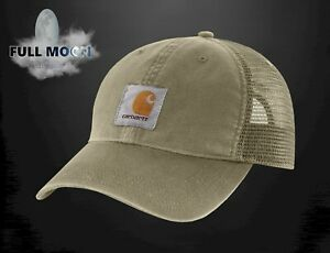 929627599 Details about New Carhartt Buffalo Sandstone Mesh Burnt Olive Mens Snapback  Trucker Hat Cap