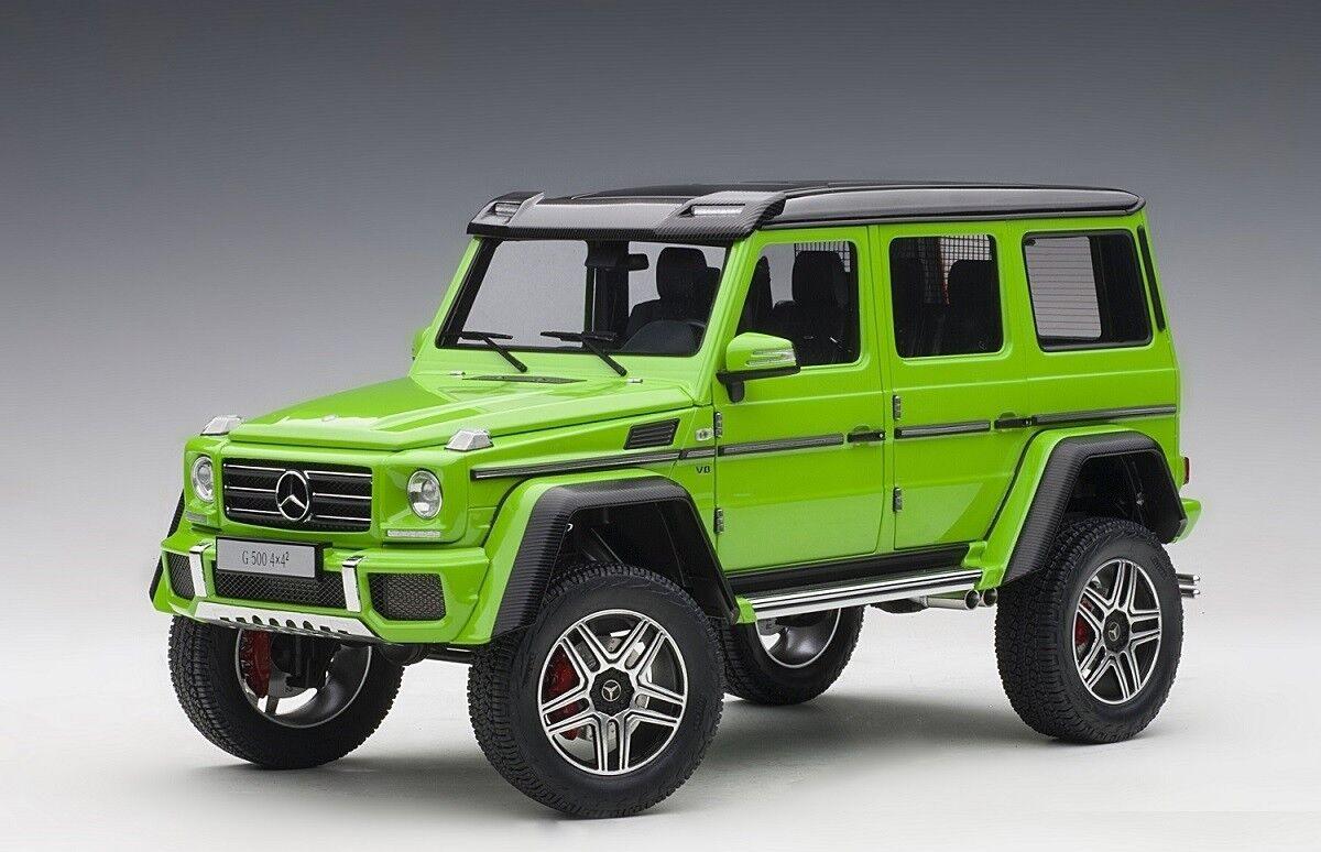 Mercedes-Benz G500 2 4X4 Alien Verde 1:18 Autoart 76315 totalmente nuevo lanzamiento En Caja