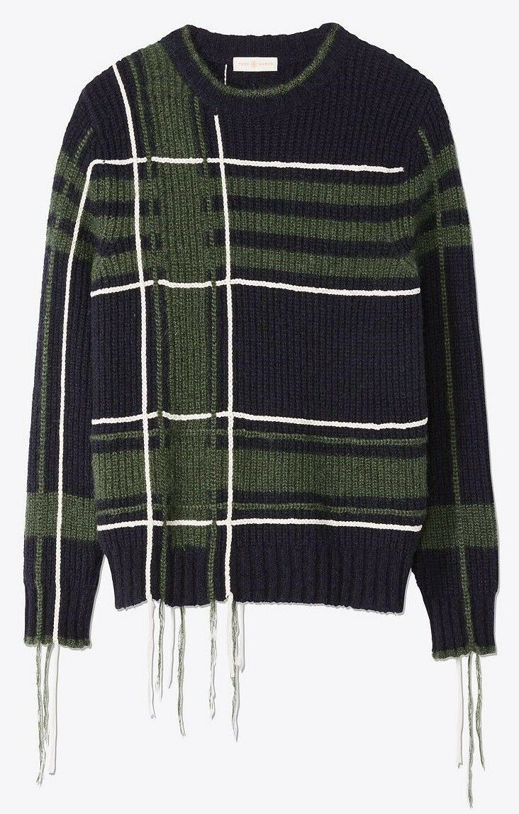 NWT  Tory Burch Eden Wool Sweater Size XS