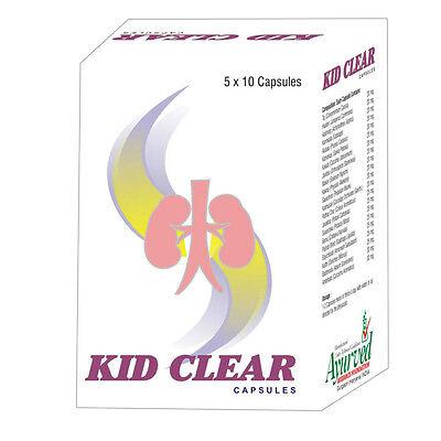 Kidney Gallbladder Stone Dissolver Cleanse Detox 50 Kid Clear Herbal Capsules