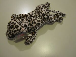 12c382e320c Ty Beanie Baby Freckles The Leopard Cat 1996 Retired Plush Toy