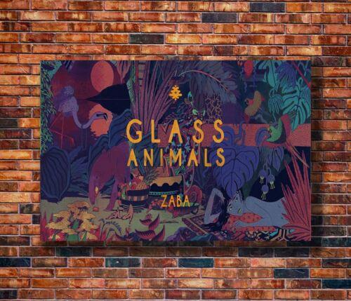 Glass Animals Zaba Music Silk Art Poster Y1093 21 36x24 40x27