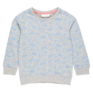 Mädchen Sweat Shirt Langarm NAME IT Kinder Pullover Pulli Oberteil gestreift NEU