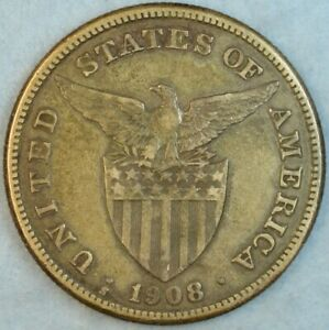 US-PHILIPPINES-ONE-PESO-1908-S-Filipinas-UNITED-STATES-OF-AMERICA-78412