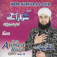 HAFIZ AHMED RAZA QADRI VOL 8 - MERE SARKAR AA GAYE -  NEW NAAT CD - FREE UK POST