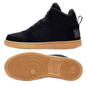 Nike Court Borough Mid Winter GS - Kinder Sneaker Freizeitschuhe - AA3458-002