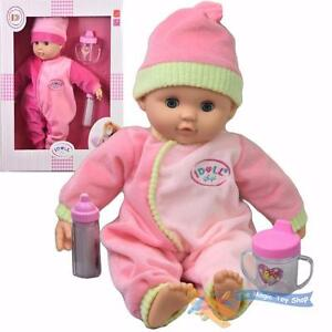 Baby-doll-avec-sons-new-born-soft-bodied-doll-amp-becher-filles-semblant-jouer-jouet
