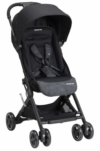 Maxi-Cosi Lara Ultra-Light One-Hand Fold Baby Travel Stroller Nomad Black NEW