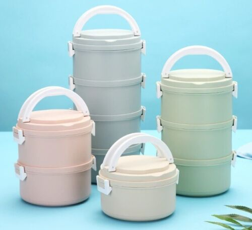 Microwave Plastic Lunch Box Japanese Bento Food Portable Leak Proof Container