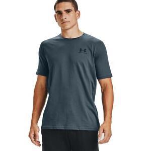 Under-Armour-Herren-UA-Sportstyle-Linke-Brust-Kurzarm-Shirt-T-Shirt-1326799-467