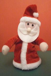 Christmas Dancing Twirling Singing Santa 17cm Sings Jingle